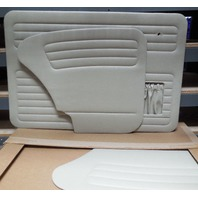 VW CONVERTIBLE 73-79 TMI  DOOR PANEL SET W/POCKETS,4-PC SET, OFF-WHITE