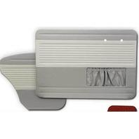 VW BUG 65-66 TMI OEM CLASSIC STYLE DOOR PANEL SET GREY/OFF-WHITE