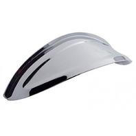 "7-1/2"" Round Headlight Visor Shield, Chrome, Vintage, Car, Truck, Street Rod, EA"