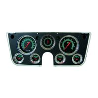 Classic Instruments 67-72 Chevy Truck Package - Black w/ Bezel - GMC Chevrolet
