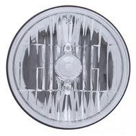 "5-3/4"" Crystal Headlight, 9007 Halogen Bulb, 12V 65/55W, Car, Truck, Street Rod"