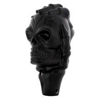 Universal Black Skull Shift Knob Hot Rat Street Rod Muscle Car Truck