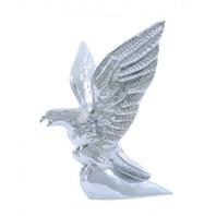 American / Bald Eagle Hood Ornament - Chrome