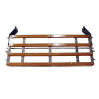 1928-31 Ford Model A Chrome Luggage Rack Assembly