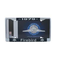 1979 Pontiac Firebird Chrome License Plate Frame with 4 Hole Mount