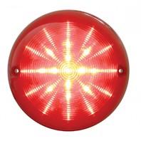1975-1982 Corvette LED Bubble Tail Lamp, 25 Red LED w/ Red Lens, Each