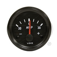 VW BUG AIR COOLED, VDO COCKPIT AMMETER GAUGE , 30 AMP 190903