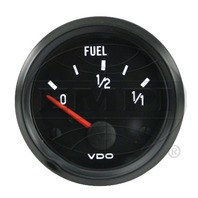 VW BUG AIR COOLED, VDO COCKPIT FUEL GAUGE 73-10 OHMs  301020