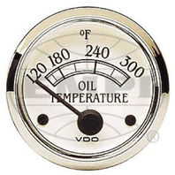VW BUG AIR COOLED, VDO COCKPIT ROYAL OIL TEMP GAUGE 300 DEGREE 310709