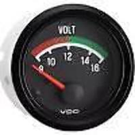 VW BUG AIR COOLED, VDO COCKPIT VOLTMETER GAUGE 8-16 VOLTS 332041