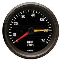 VW BUG AIR COOLED, VDO COCKPIT TACH,7000 RPM, 3-3/8  333055