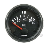 VW BUG AIR COOLED, VDO COCKPIT OIL PRESURE GAUGE 0-150 PSI 350041