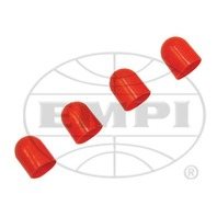 VW AIR COOLED VDO LIGHT DIFFUSERS RED 11/32, 4 PC SET  600857