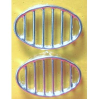 Air Cooled VW Beetle Horn Grill Stock PAIR GERMAN ,52-67  113-853-641A