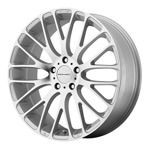 Kmc Wheels Km693 Maze Silver Wheel With Machined Face 17x75x120mm