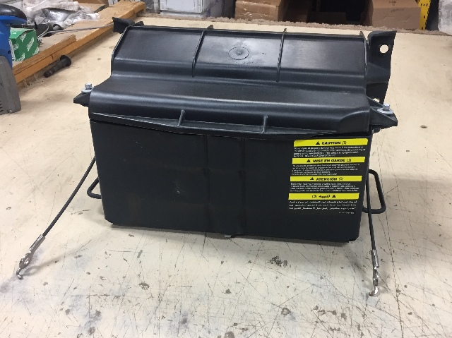 Ford Econoline Van Cab Chassis Truck Steel Battery Box With Lid Rv Rhebay: Ford Econoline Van Battery Location At Gmaili.net