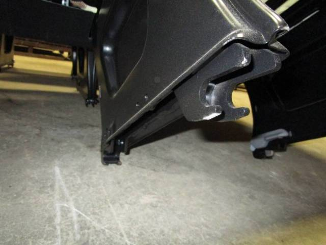 Details about 14-18 Mercedes Benz Sprinter Van 4-Passenger Black Cloth Rear  Bench Seat