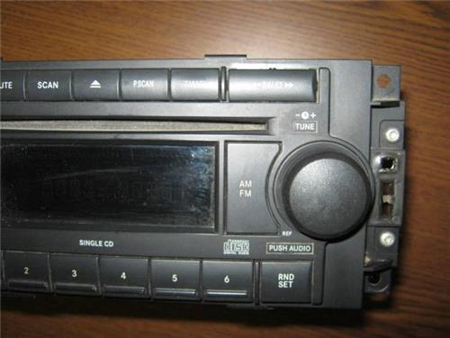 0610 Dodge Ram 1500 2500 3500 Oem Amfm Aux Cd Player Radio Ebayrhebay: 2007 Dodge Ram 1500 Factory Radio At Elf-jo.com