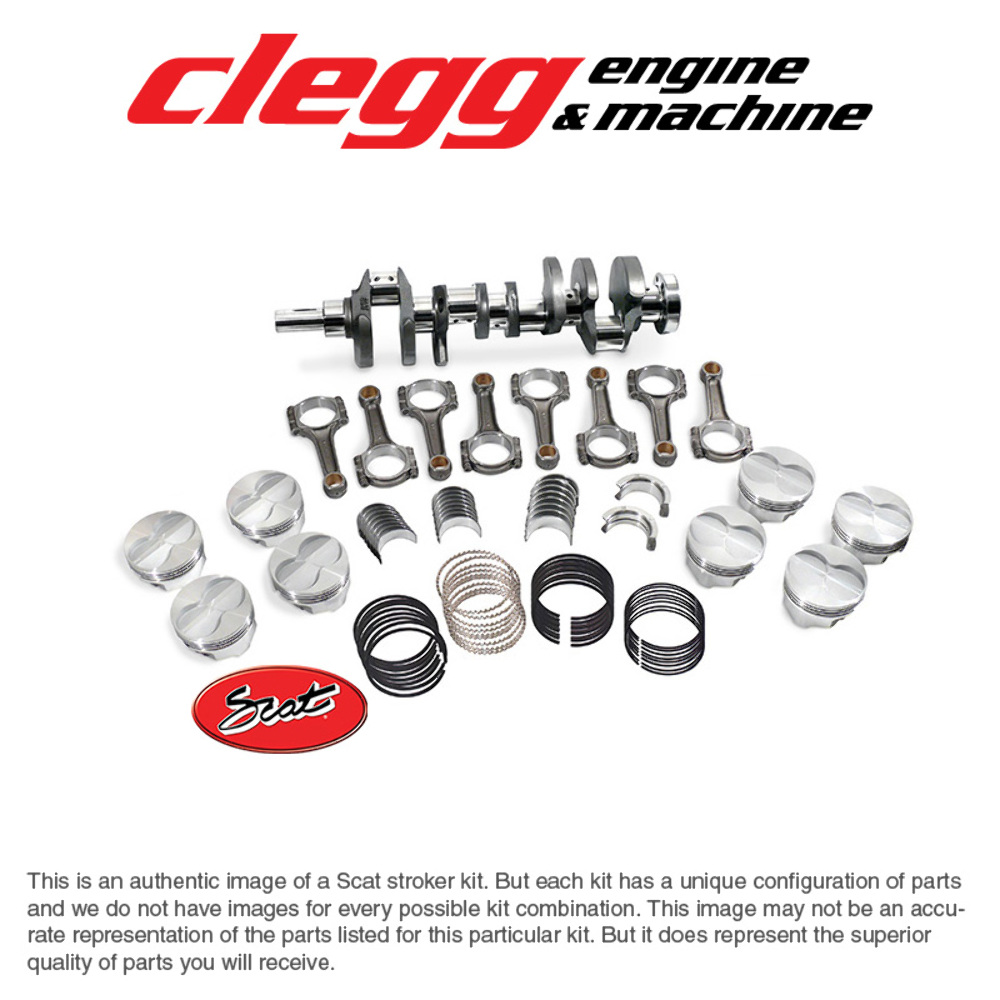 Details about FORD FE390-431 BAL  SCAT STROKER KIT Premium  Forged(Flat)Pist , I-Beam Rods