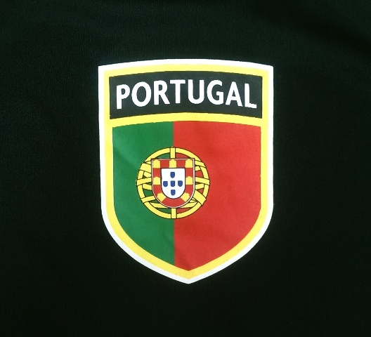 new product 8cd9b a824c Details about Mens Portugal National Soccer Football Fan T-Shirt Jersey  Black