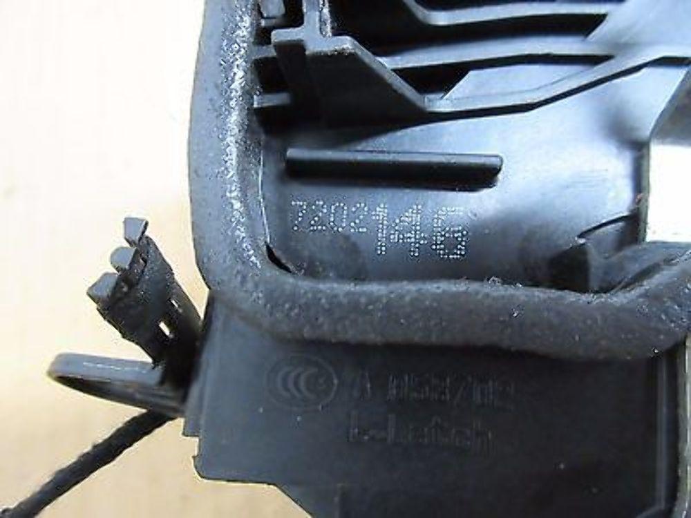 08 BMW M3 Convertible E93 E92 #1015 Right Door Lock Latch Actuator 7202146