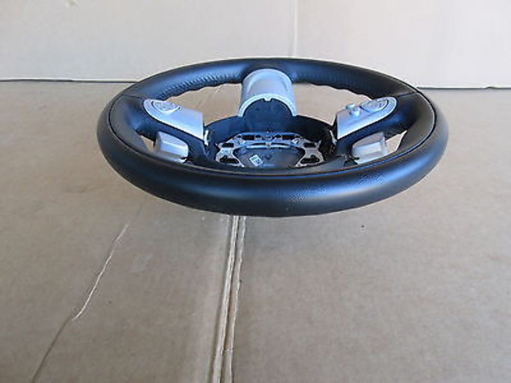10 Mini Cooper S R56 1003 Leather Steering Wheel W Paddle Shifter