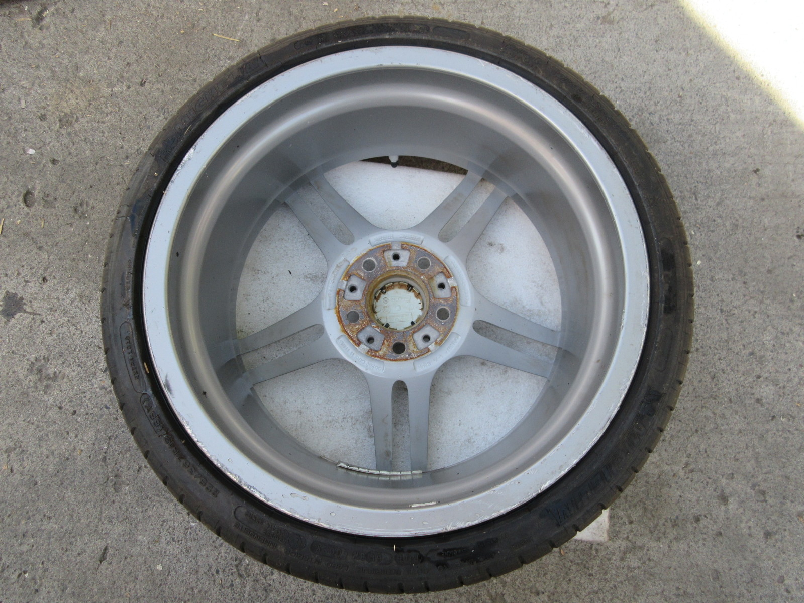 Bmw Oem 19 313 Style Double Spoke Performance Wheels Michelin