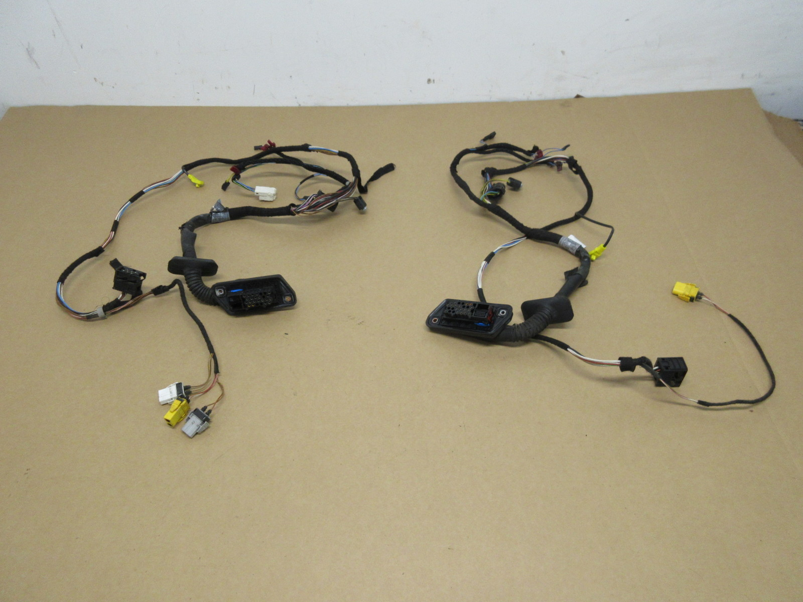 1999 Bmw M3 E36 Convertible 1021 Door Wire Wiring Harness Set Pair Cover