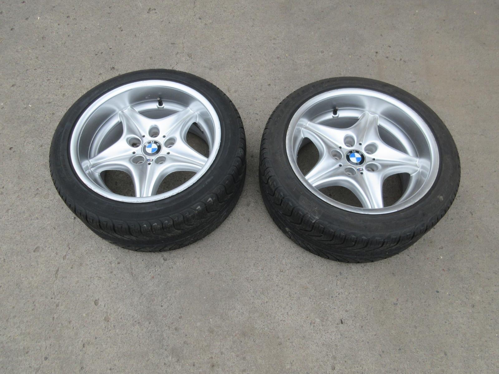 Bmw Z3 M Roadster E36 Style 40 Oem Rear 17 Wheels Tires 36112228060 Pk Auto Parts Inc