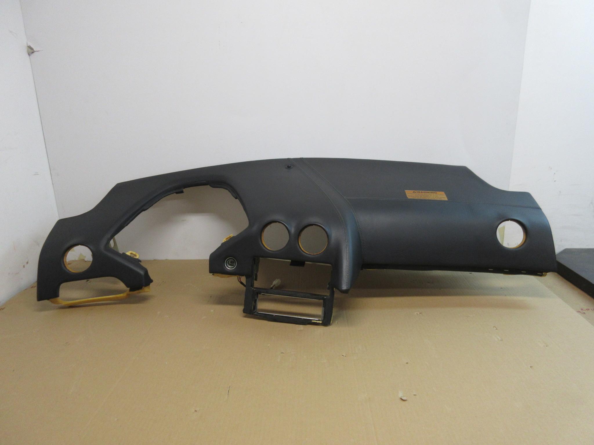 04 Lamborghini Murcielago 1025 Black Leather Dashboard Dash Pk