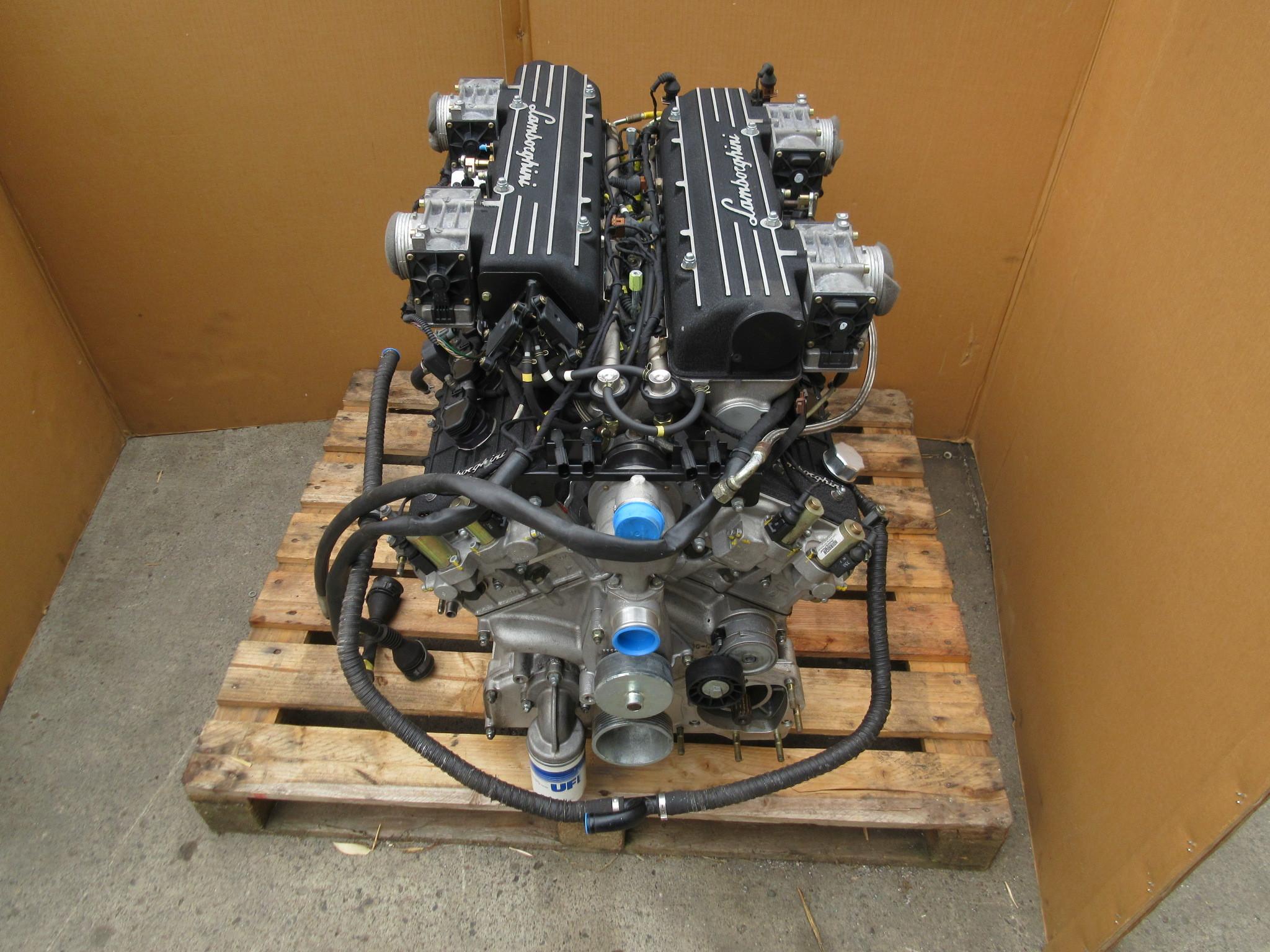 12k In Miles >> 04 Lamborghini Murcielago 1025 6 2l V12 Complete Engine 12k Miles