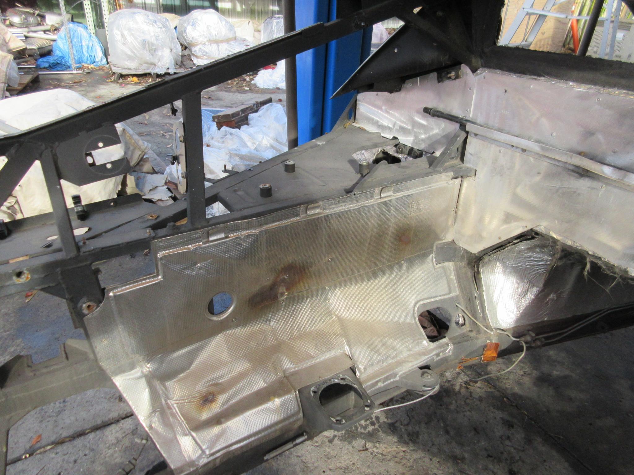 04 Lamborghini Murcielago 1025 Body Frame Shell Chassis Left