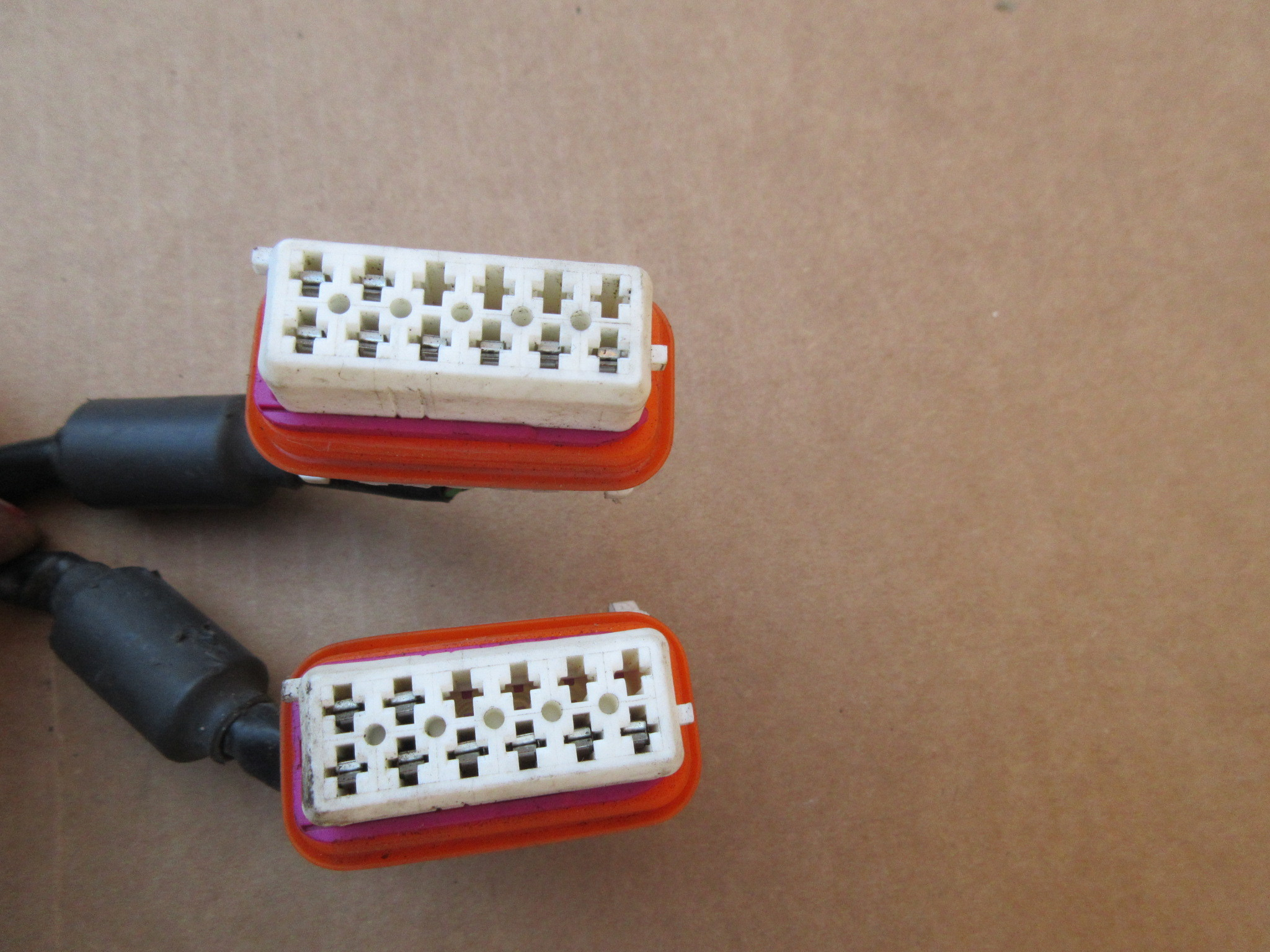 ... 07 Porsche 911 Turbo 997 #1031 Front Headlight Wire Wiring Harness  997612551Z2 ...
