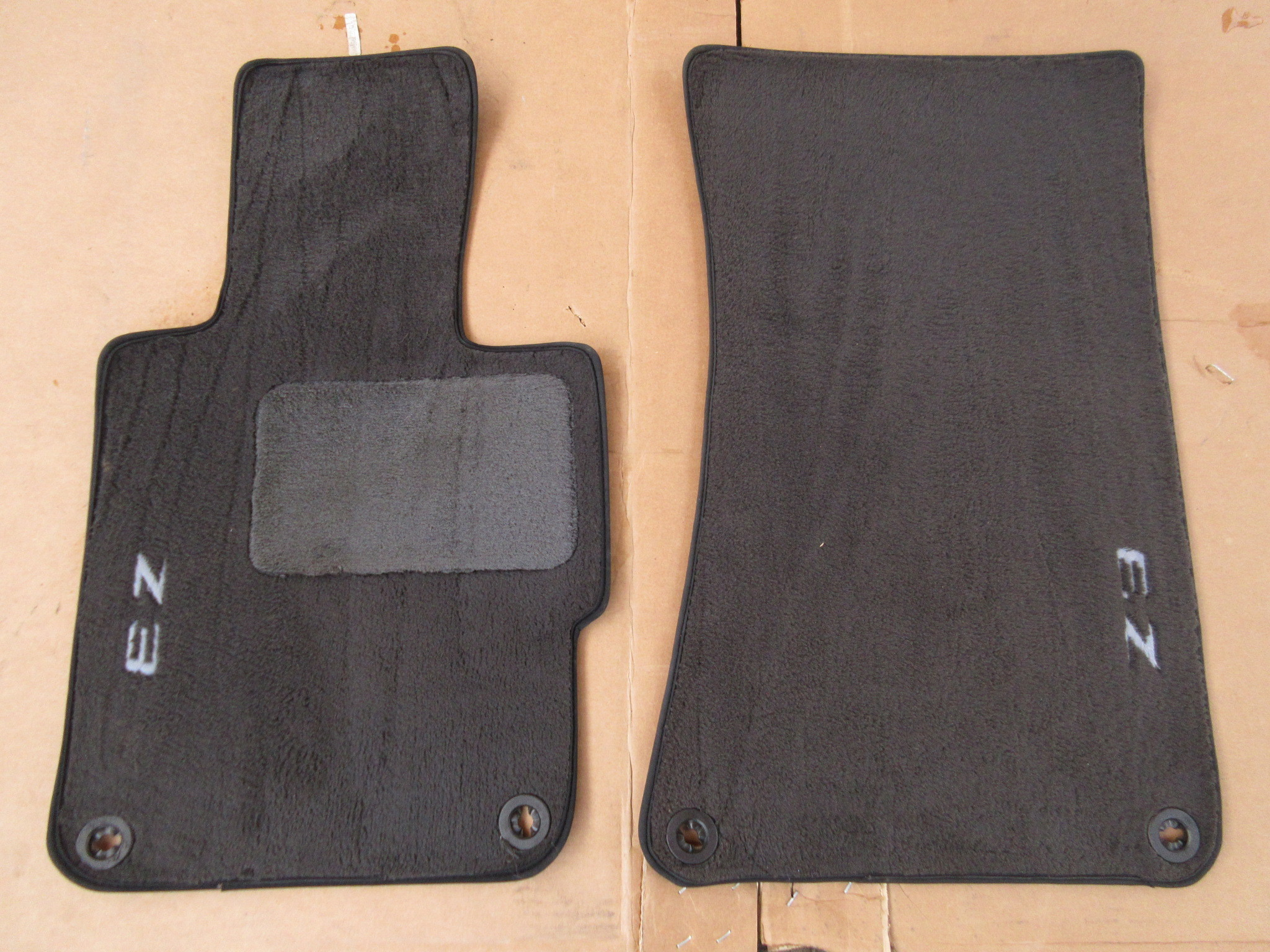 1999 Bmw Z3 M Roadster E36 1036 Black Oem Floor Mats Pk Auto