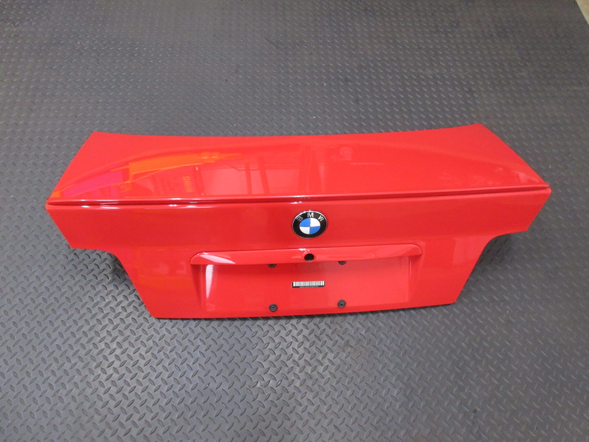 1998 Bmw M3 E36 Sedan 1041 Trunk Lid Red Pk Auto Parts Inc