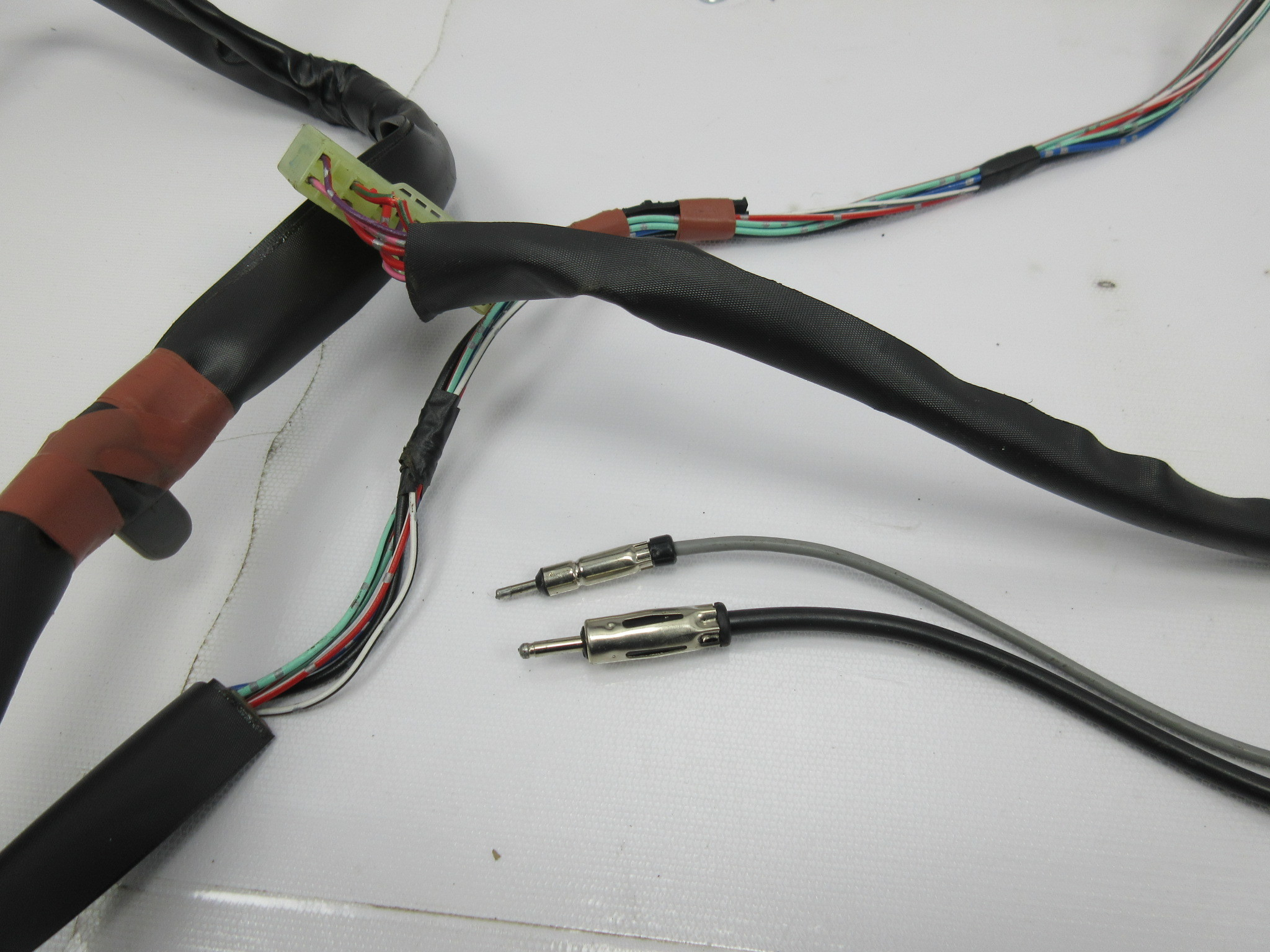 1988 Toyota Supra Mk3 1042 Rear Interior Cabin Trunk Wire Wiring Harness