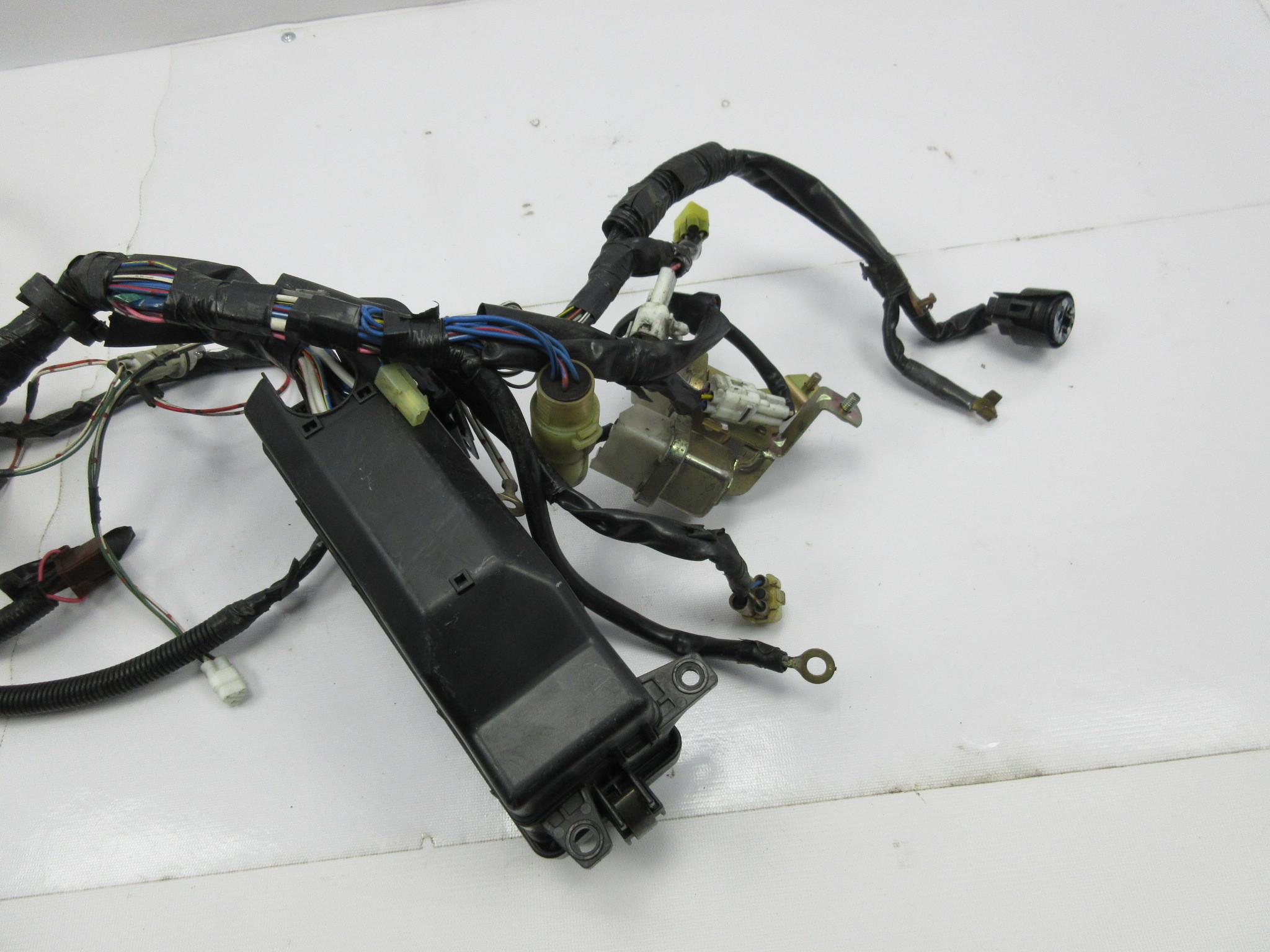 1988 Toyota Supra Mk3 1042 Engine Bay Wire Wiring Harness Relay Box Headlights