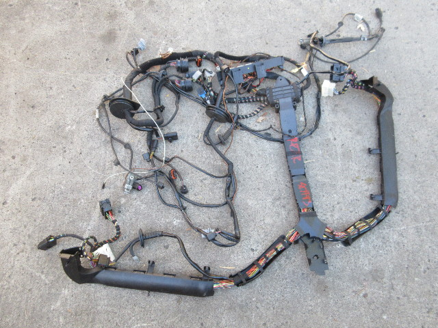 07 porsche 911 turbo 997 1031 997tt engine dme wire wiring harness rh ebay com Wiring Harness Connector Plugs Wiring Harness Diagram