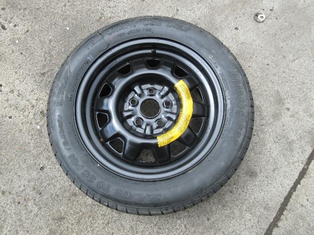 1986-1992 Toyota Supra MK3 OEM Factory Spare Wheel & Tire