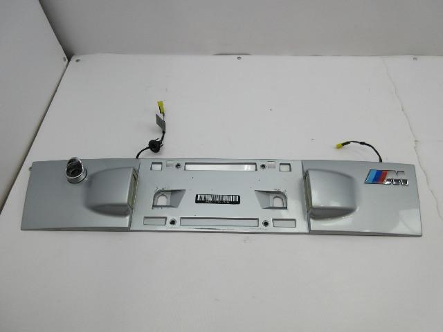 1998 BMW Z3 M Roadster E36 #1037 Trunk Lid License Plate Trim Panel 2693055