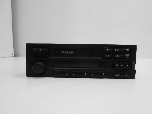 1998 BMW Z3 M Roadster E36 #1045 OEM Cassette Player AM FM Tuner Radio