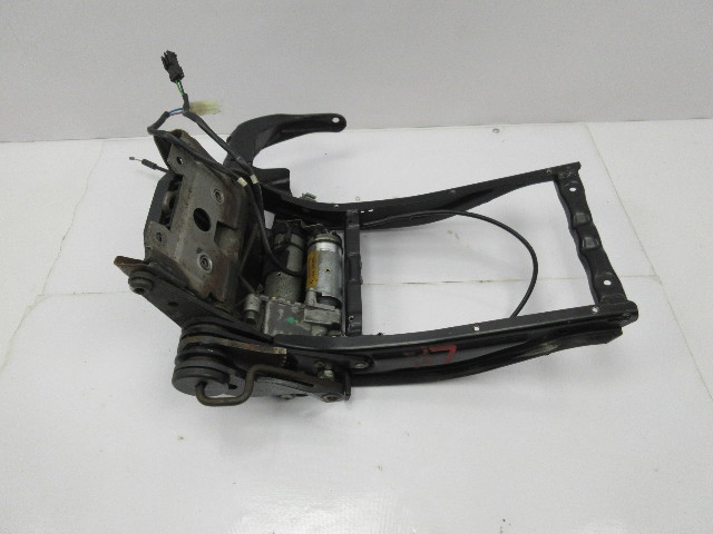 BMW M3 E36 #1046 Left Front Sport Seat Backrest Recline Rail Motor Track