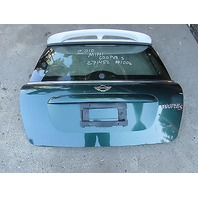 10 Mini Cooper S R56 #1006 Hatch Trunk Lid W/ Spoiler British Green