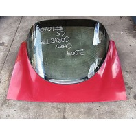 04 Chevrolet Corvette C5 Rear Hatch Trunk Assembly W/ Windshield #1010