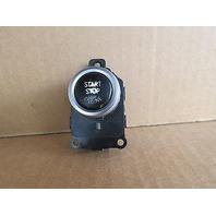 09 BMW 750i F01 #1008 Engine Start/Stop Switch 9162555