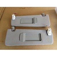 09 BMW 750i F01 #1008 Grey Sunvisors Pair