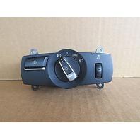 09 BMW 750i F01 #1008 Headlight Foglight Dimming Switch 9192745