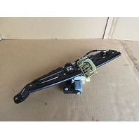 09 BMW 750i F01 #1008 Window Motor & Regulator, Right Rear 7046032