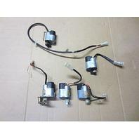 95 Ferrari 456 456GT A/C AC Heater Servo Motors Set 64280800, 64280700, 64280900