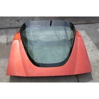 05 Chevrolet Corvette C6 Rear Hatch Trunk W/ Glass Orange
